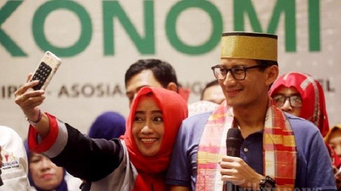 Janji Cawapres Sandiaga Uno, Beasiswa Santri Bila Prabowo Presiden