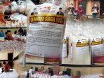 Momen Ramadan, Gerindra Kabupaten Malang Bagikan 1000 Paket Sembako Kepada Masyarakat Terdampak Covid19